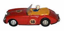 SCARCE Tin Wind Up Yonezawa Austin Healey 3000 Racer - Worldwide Shipping