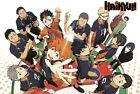 Haikyuu!! Poster Shoyo Tobio Yu Kei Kiyoko Volleyball Anime Print