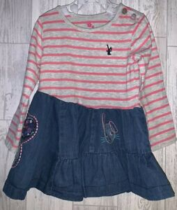 Girls Age 9-12 Months - Next Long Sleeved Dress