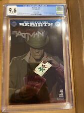 BATMAN #27 REBIRTH FOIL SDCC CONVENTION VARIANT COVER EDITION! CGC 9.6