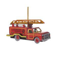 Feuerwehrauto, Blechdeko - Nostalgisches Blechspielzeug