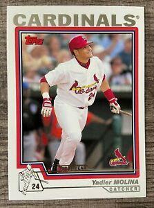 2004 Topps First Year Card YADIER MOLINA Cardinals!! #324
