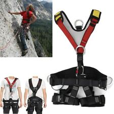 Outdoor Rescue Climbing Rock Sitting Bust Belt Safety Seat Rappelling Harness
