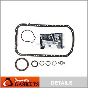 Lower Gasket Set Fit 01-05 Honda Civic EX HX DX LX 1.7 D17A1 D17A2 D17A6