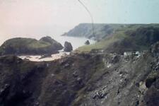 35mm Colour Slide- Village and ruggard Coastline Scotland 1970's