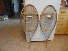 antique   snowshoes       15  x  38   nice     /#  2157