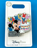Disney Collector Pin Mickey Disneyland 64th Birthday Anniversary 7/17/19 LE 2500