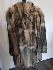 Real Fur Winter Ladies Coat size 12/14