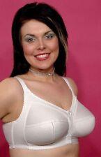 Berdita 10246 Non wired Comfort Bra in White size 40D NEW