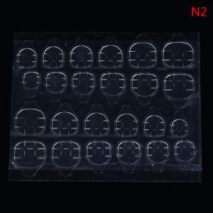 240pcs Adhesive Tape Glue Nails Sticker Acrylic DIY Double Sided False Nail T O*