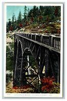 Latourelle Bridge, Columbia River Highway, Oregon c1910 Postcard J8
