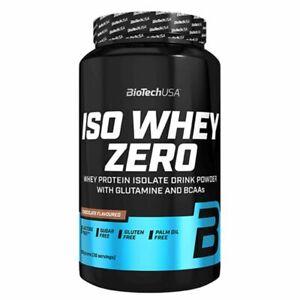 Biotech USA Iso Whey Zero Lactose Protéine 908g - Régime - Régénération + Shaker