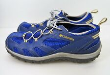 Columbia Soaker Womens Water Shoes Size 6 Blue BY4552-979