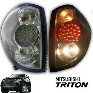 Fit Mitsubishi Triton L200 05 06 07 08 09-14 Pickup Tail Lamp light Led Smoke