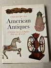 🟢 Treasury of American Antiques by Clarence P. Hornung 1977 VG M2B