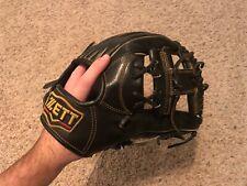 """Zett Prostatus -RARE- 11.25"""" Infielder RHT Baseball Glove Japanese Kip Leather"""