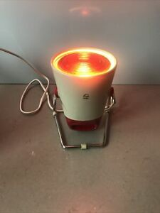 Vintage Philips Infraphil Therapy Heat Lamp KL7500A /90 Working With Box