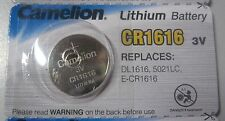 2X CAMELION CR1616 3V Lithium Battery Button Coin Cell DL1616 Car Key Fobs Watch