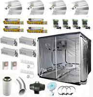 Complete Grow Tent kit 600w Light Fan Filter 240 x 240 x 200 cm