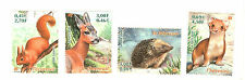 TIMBRES FRANCE NEUFS NATURE DONT HERISSON YVERT N° 3381 à 84