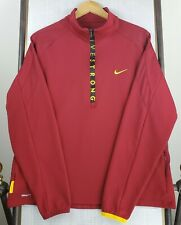 NIKE LIVESTRONG XL Fit Dry Mens Long Sleeve 1/2 zip Golf Casual Shirt Jacket
