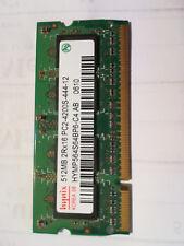 *** HYNIX RAM DDR2 512M SODIMM PC2-4200S HYMP564S64BP6-C4 COME NUOVA ***