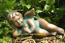 NEW RUBBER LATEX MOULD MOULDS MOLD CHERUB LAYING HOLDING A BIRD