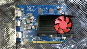HP AMD RADEON RX550 PCIe 4GB-DDR5 2xDP HDMI 3TK71AA Graphics Card  L11343-001