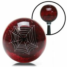 Red Spider Custom Shift Knob Translucent with Metal Flake sbf shifter truck gear