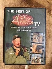 The Best of Tracks Across Africa Season 2 Craig Boddington African Hunting DVD
