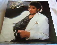 "Collectible 1982 Michael Jackson Thriller Album 12""Vinyl Lp Very Nice"
