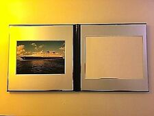 """Disney Cruise Line Photo Album for 6"""" x 8"""" Photo with Ship Print & Cover Sleeve"""