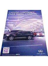 2012 2013 Infiniti JX30 Vintage Advertisement Print Car Ad J446