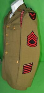 RARE 1930's US Army Manlius ROTC HQ Staff uniform - Syracuse New York