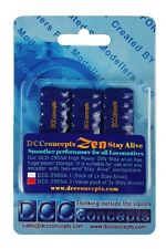 DCC Concepts DCD-ZNSSA 3 x Super Powerful Stay Alive Units for ZEN Decoders T48