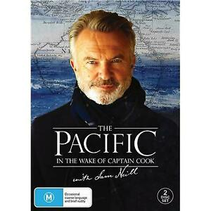 THE PACIFIC IN THE WAKE OF CAPTAIN COOK WITH SAM NEIL DVD, BRAND NEW, FREE POST