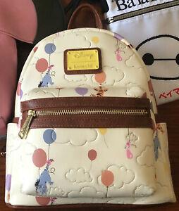 NWT Disney Winnie the Pooh Balloons - Loungefly Mini Backpack