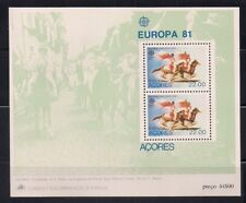 Portugal- Azores  1982  Sc #333  Europa  s/s  MNH  (41102)