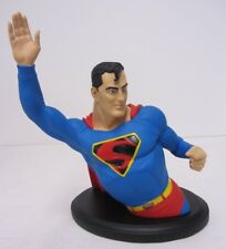 Superman ~ DC Direct ~ Mini-Bust Statue~ 0326/2500  Painted ~ Hairline Cracks