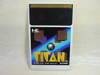 PC-Engine Hu Grafx TITAN Card Only Import JAPAN Video Game pe