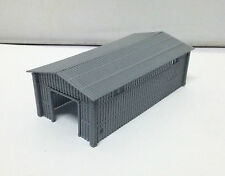 Outland Models Train Large Metal Style Shed for Warehouse / Factory Z Gauge