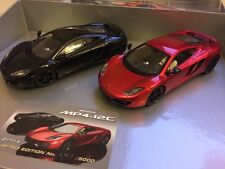 """Scalextric C3171A McLaren MP4-12C """"Button/Hamilton"""" Limited Edition Twin Pack"""