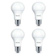 4x Philips LED Frosted E27 100w Warm White Edison Screw Light Bulbs Lamp 1521lm