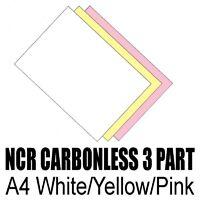 50 sets x A4 Carbonless NCR Duplicate Print Paper WYP
