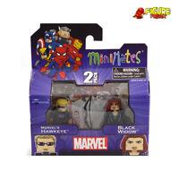 Marvel Minimates TRU Toys R Us Wave 17 Hawkeye & Black Widow