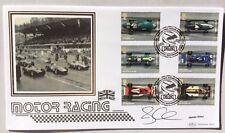 3.7.07 Grand Prix Motor Racing, Weybridge. Sig. JAMES ALLEN,  F1 Commentator.