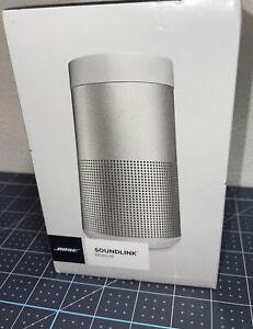 Bose SoundLink Revolve Portable Bluetooth Speaker - Silver