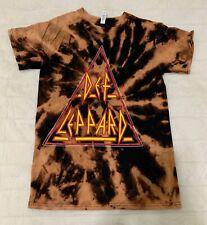 Def Leppard rock band T Shirt Rock Tee Metal pop unisex Tie Dye