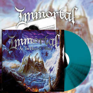 IMMORTAL - At The Heart Of Winter - Ultra Clear Blue LP 2021 - (Osmose Prods)