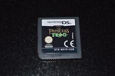 NINTENDO-jeu pour DS -THE PRINCESS AND THE FROG